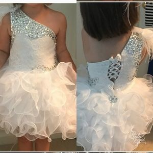 Other - White 3t pageant dress